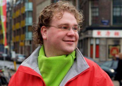 Paul Vermast campagne in Amsterdam