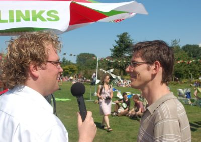 Interview met Bas Eickhout Europese campagne 2009.