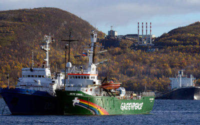 What a shame Russia! Free the Artic 30 now!