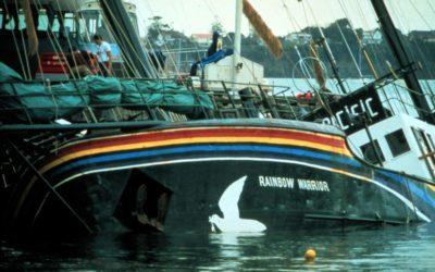 Rainbow Warrior-aanslag 30 jaar geleden
