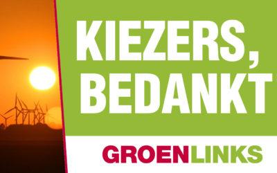 Twee zetels voor GroenLinks!