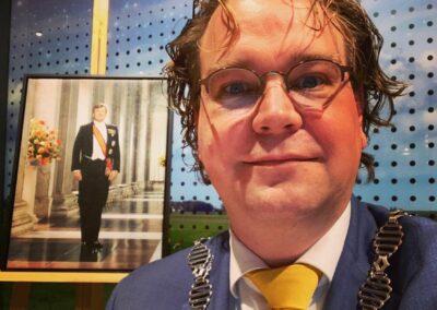 Paul Vermast als plaatsvervangend voorzitter van de gemeenteraad in Dronten